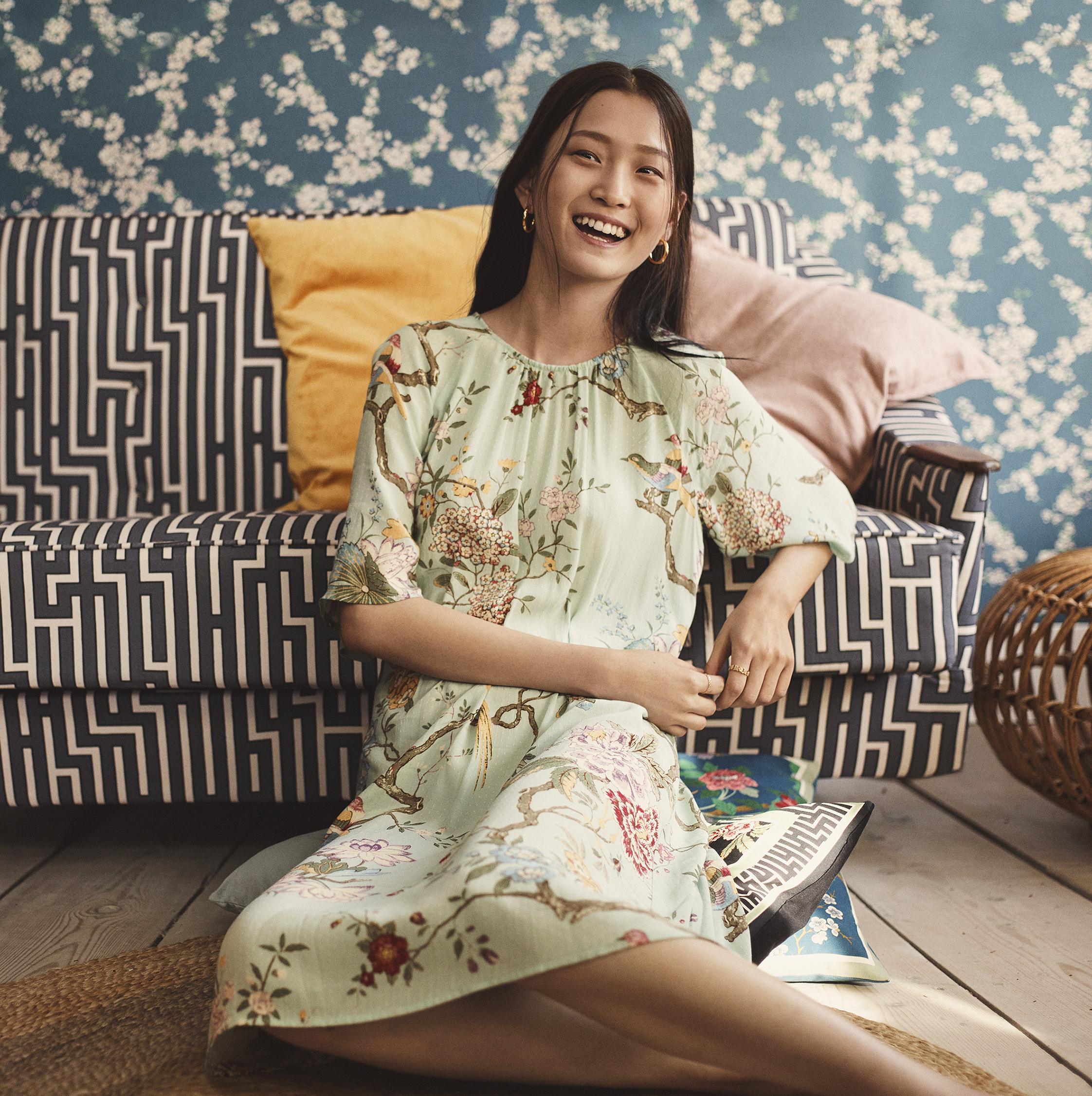 It's such a wonderful time in fashion for statement-making prints and patterns so we're excited to be collaborating with one of the most prestigious textile and wallpaper houses.