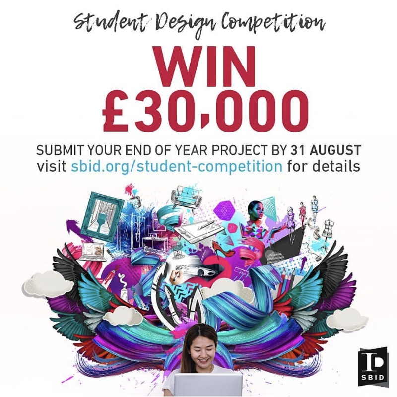 SBID Student Design Competition...Win £30,000 Closes 31ST August 2018