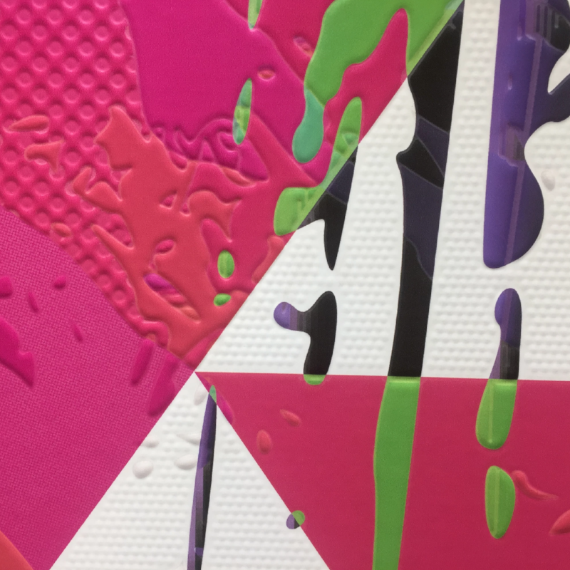 Until now, designers needed to source specialist, pre-textured media to create 3D style effects on wallpaper or go through a complex printing process to create the effect using standard printers...