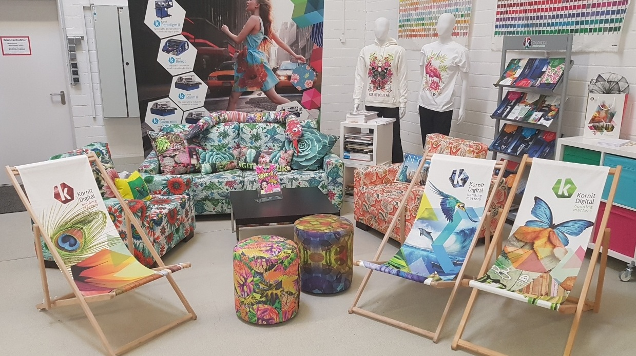 KORNIT DIGITAL : In-Line fabric coating for Digital Textile Printing onto any fabric substrate