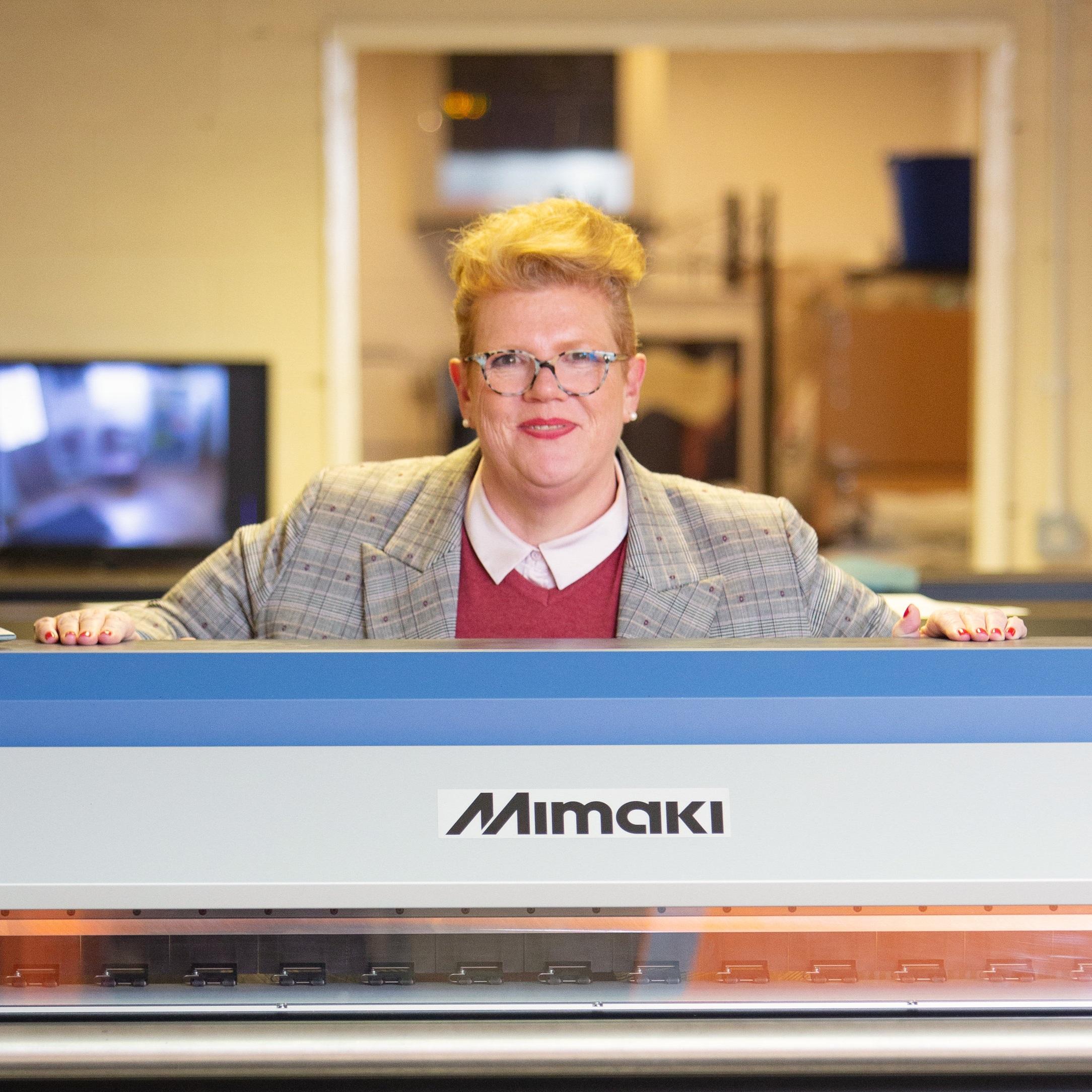 Meet Vicki Swinden, MD at The PrintCompany, Warrington, Cheshire.