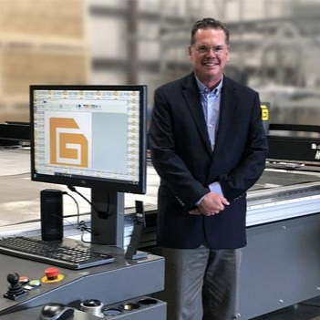 Scott Schinlever, President & COO Automation Solutions at Gerber Technology.