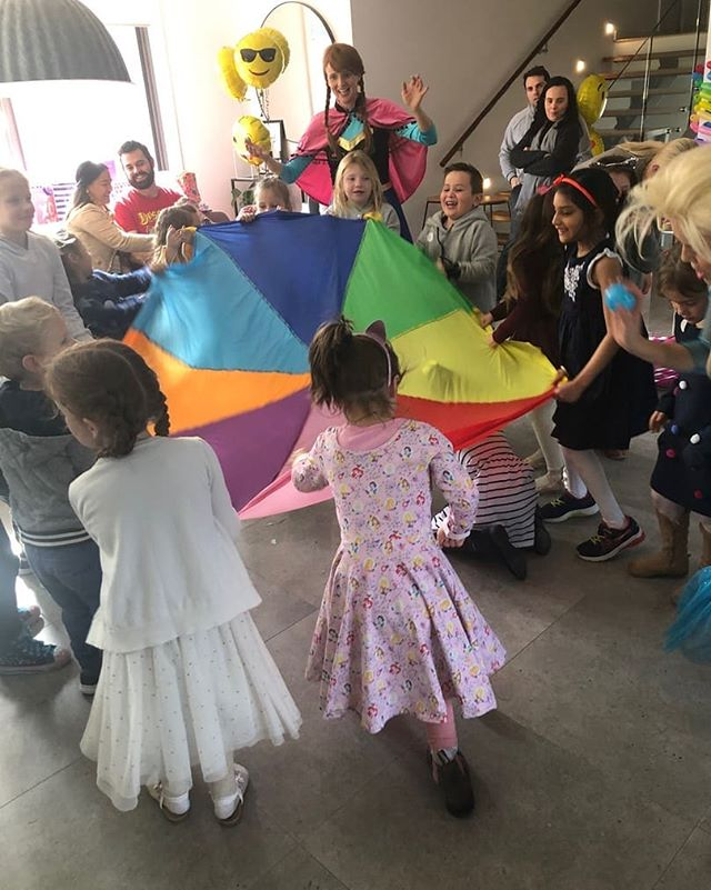 The parachute is always a hit - indoors or out! 😍