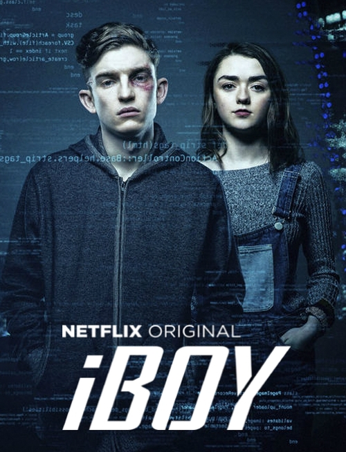 iBoy   Tom wakes from a coma to discover that fragments of his smart phone have been embedded in his head and he has developed strange superpowers. Bill Milner is Tom    Click for more