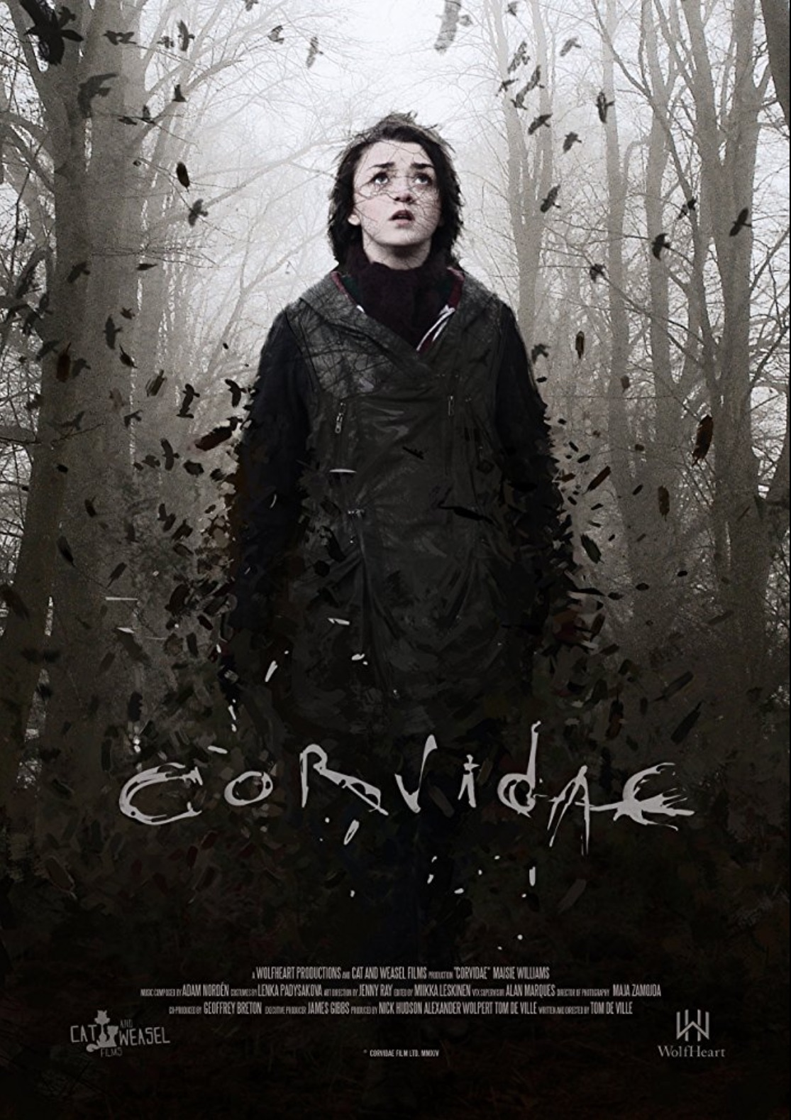 CORVIDAE  (short)  Maisie plays Jay, a loner who has a strange affinity with birds.    Click for more