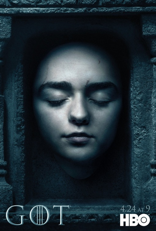 GAME OF THRONES  season 6  Maisie plays Arya Stark in this epic story. Nine noble families fight for control over the mythical lands of Westeros, while an ancient enemy returns after being dormant for thousands of years.    Click for more
