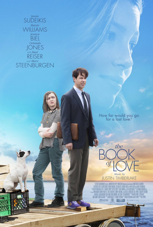 THE BOOK OF LOVE   Henry is an introverted architect. After the death of his wife, he sets out to help Millie build a raft to sail across the Atlantic. With Jason Sudeikis.    Click for more
