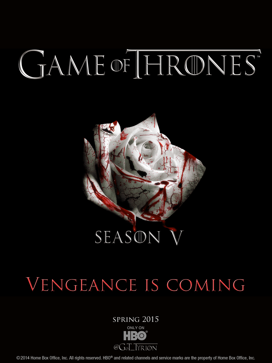 GAME OF THRONES  season 5  Maisie plays Arya Stark in this epic story. Nine noble families fight for control over the mythical lands of Westeros, while an ancient enemy returns after being dormant for thousands of years.    Click for more