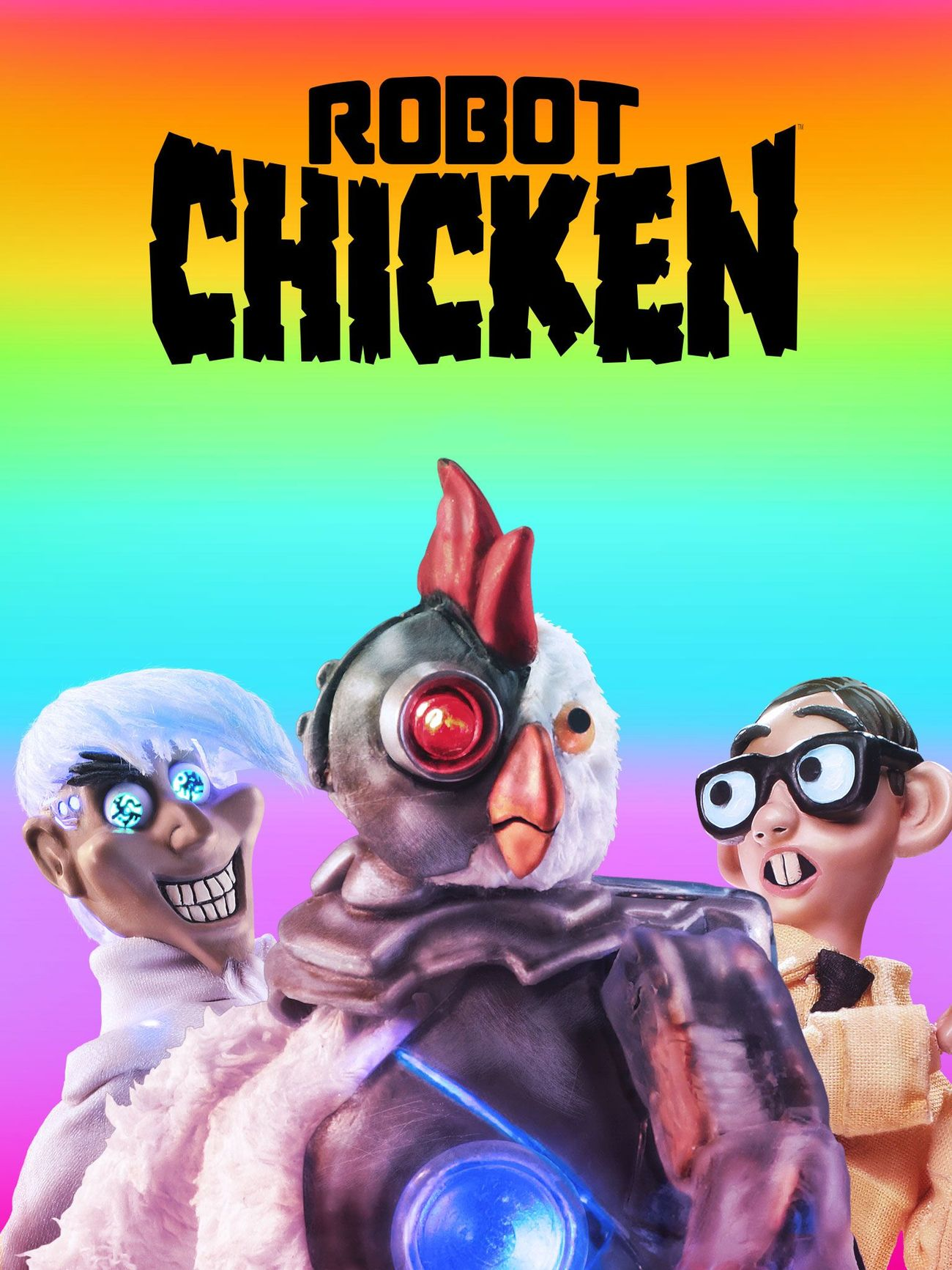 ROBOT CHICKEN   Maisie voices several characters in this stop motion sketch show    Click for more