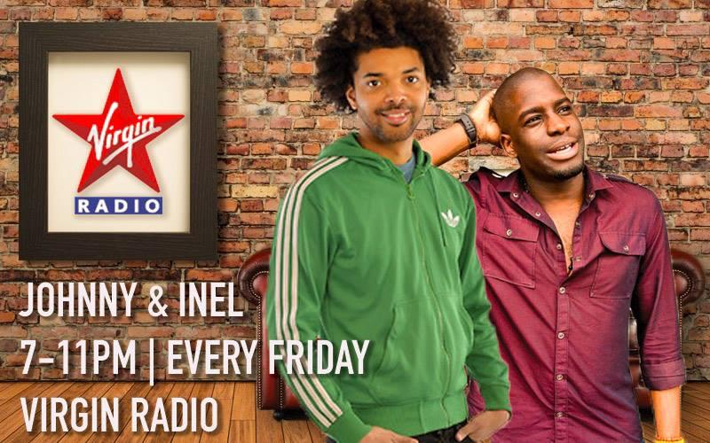 Johnny and Inel on Virgin Radio UK