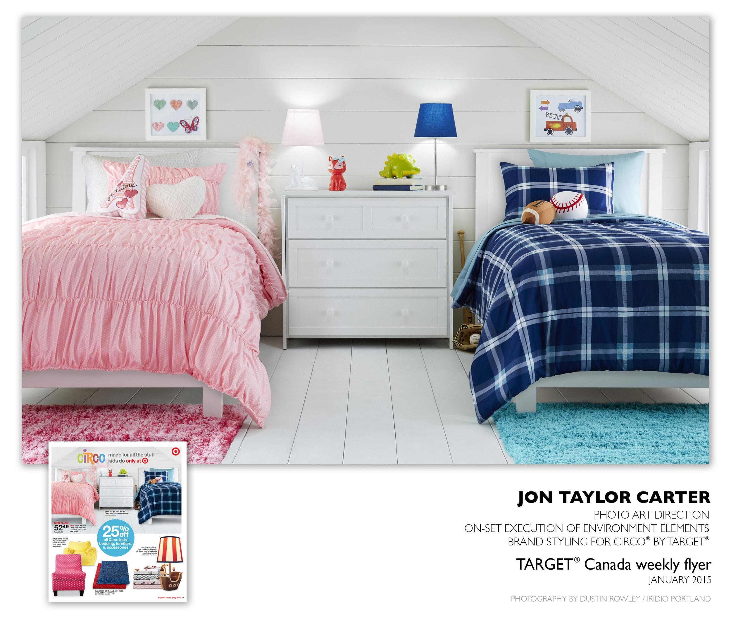 TARGET Canada \u2014 Jon Taylor Carter