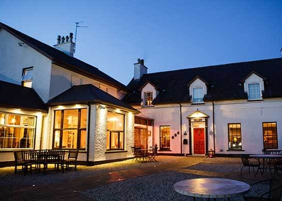 The Red Door - The Red Door Country House is the perfect Donegal venue for wedding receptions, intimate civil wedding ceremonies and civil partnerships. Celebrations for 80 to 160 guests are held in our beautifully appointed restaurant overlooking the Lough Swilly.