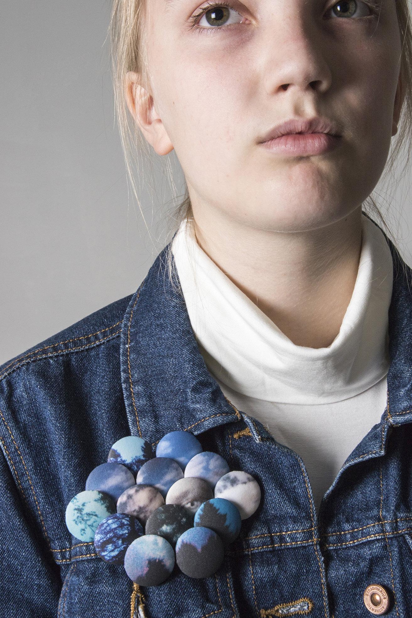 Maria Nuutinen: Blue, 2018