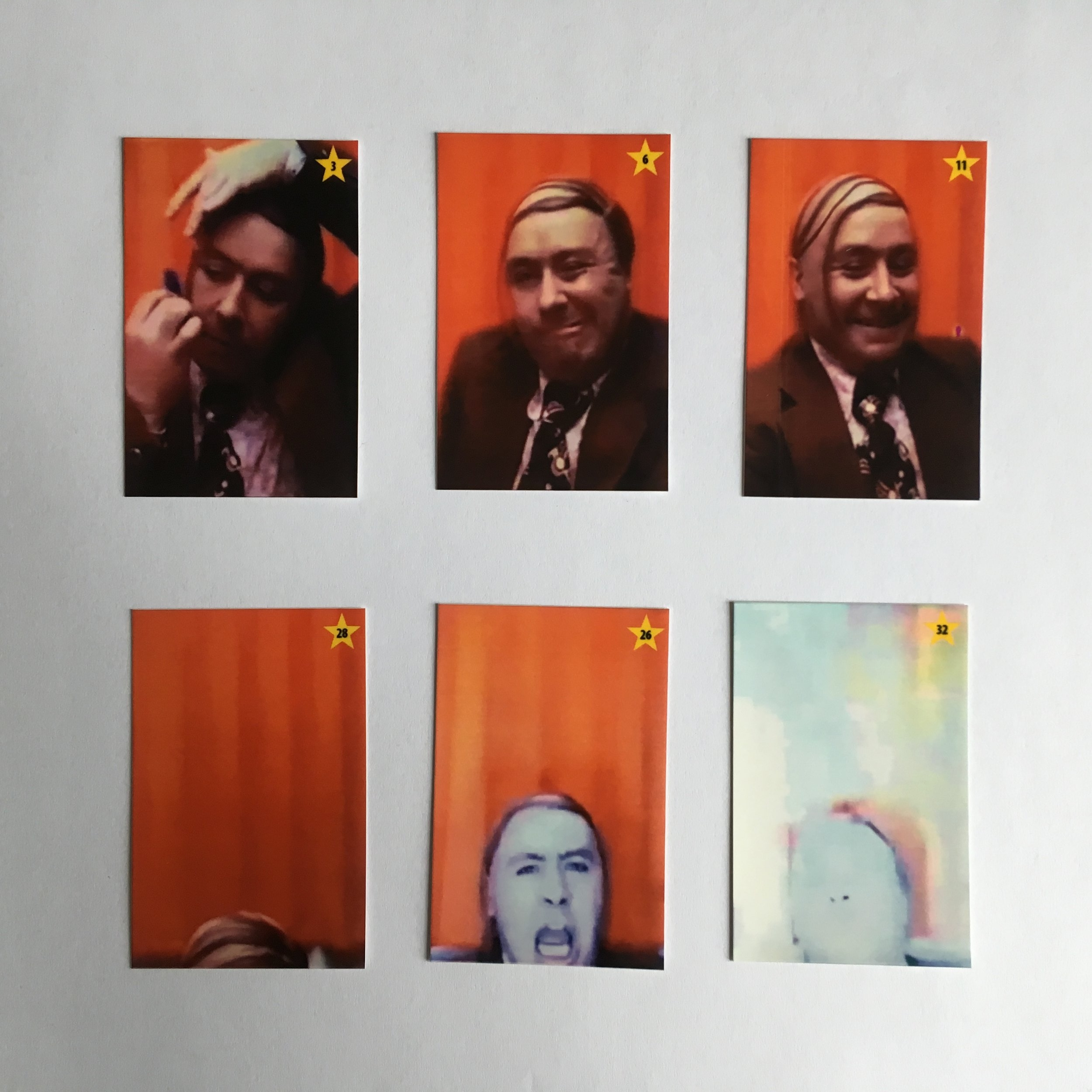 Each pack of stickers contains its own unique recap of the advert.