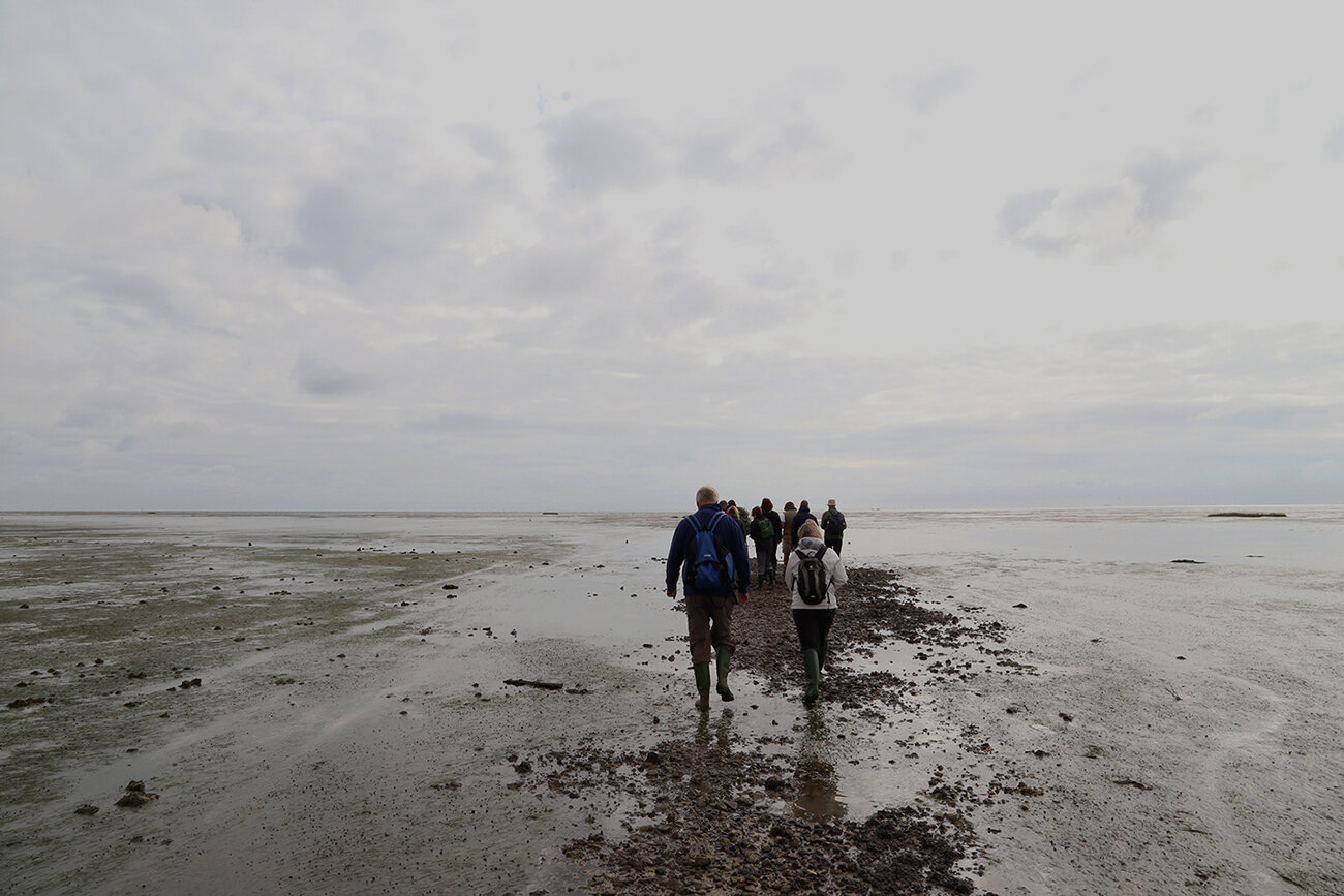 Crossing the Broomway, Essex