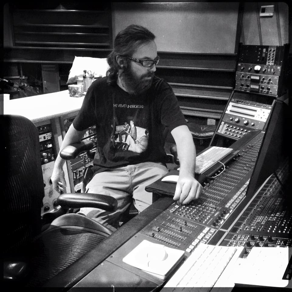 Marc Urselli in the Studio A control room