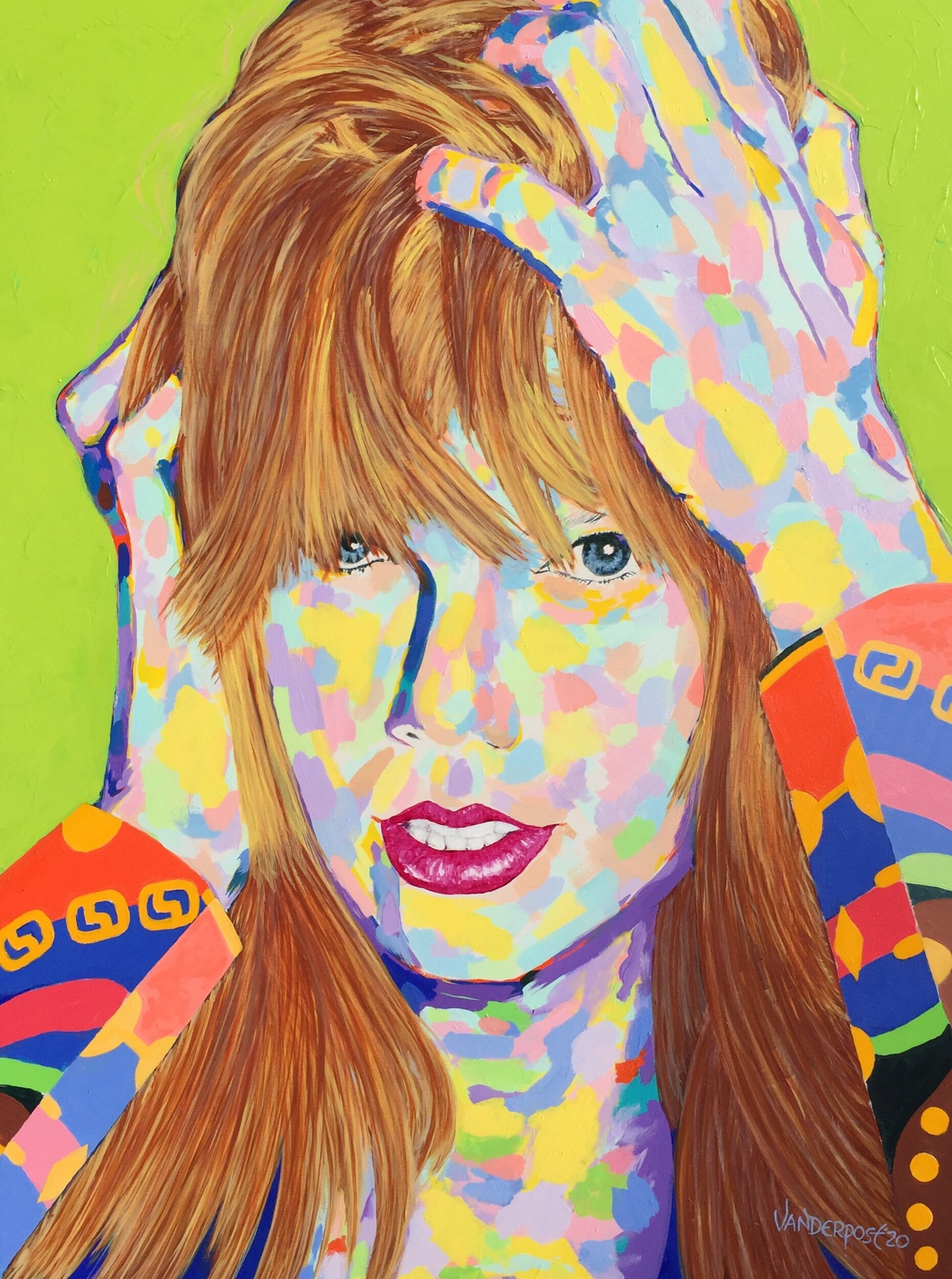 Taylor Swift In Body Paint Phil Vanderpost