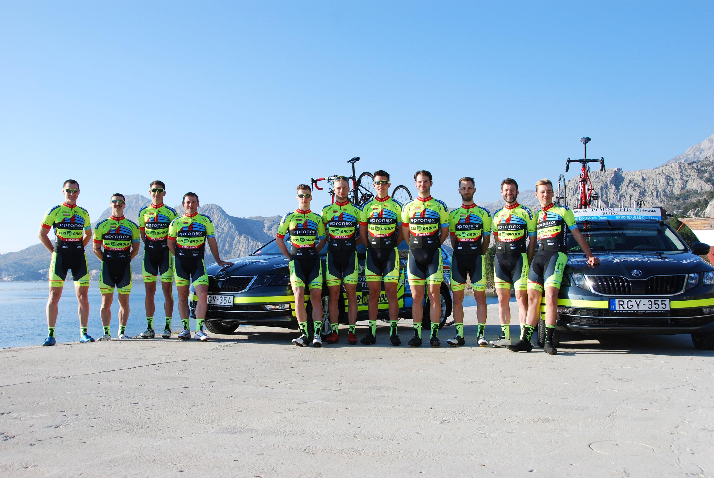 2019-es Epronex - Bss Oil csapata, a Porsche Budától kapott 2db Skoda Octavia-val