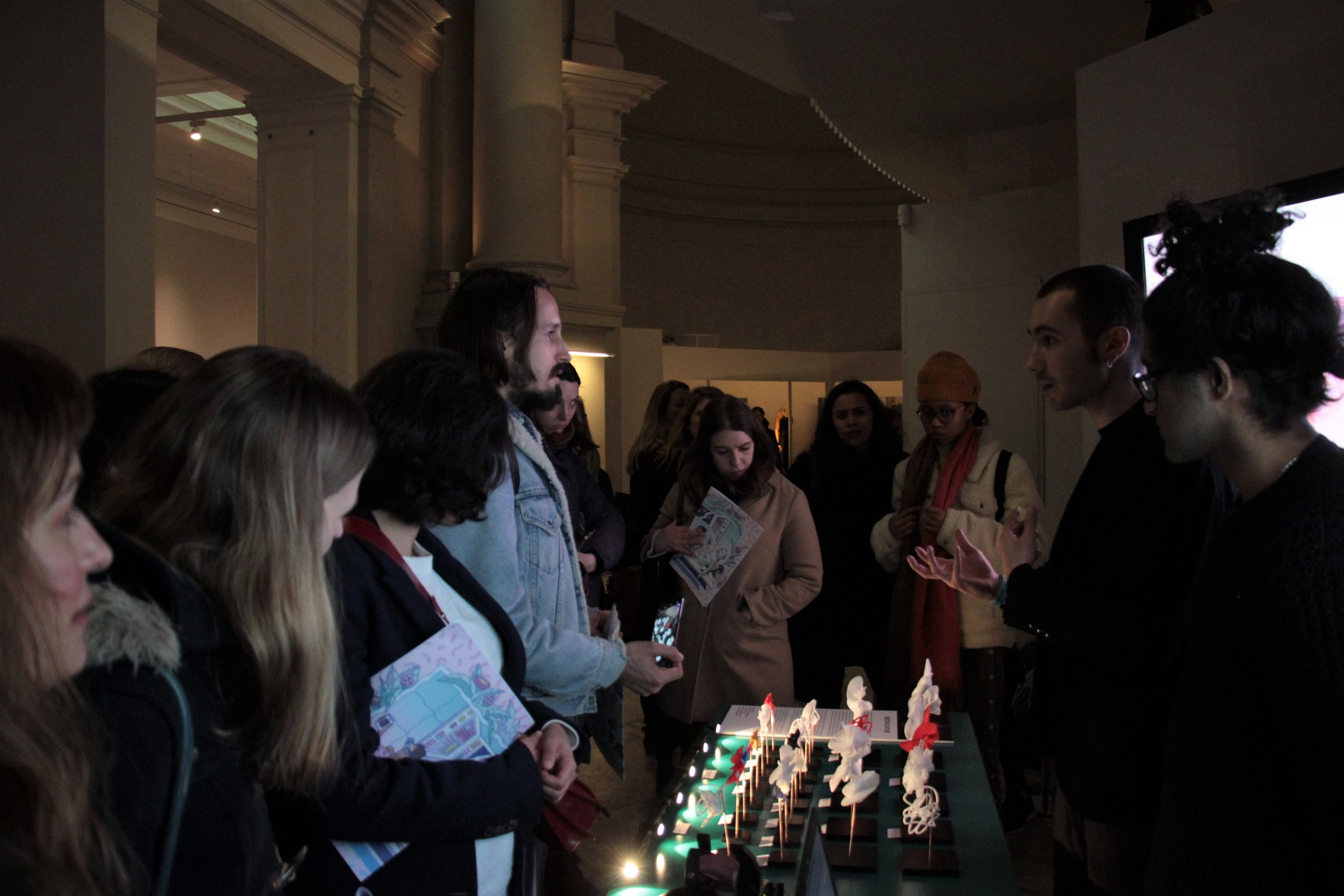 """Victoria & Albert Museum exhibition: """"Future of Dating"""" Friday Late event 23/02/2018"""