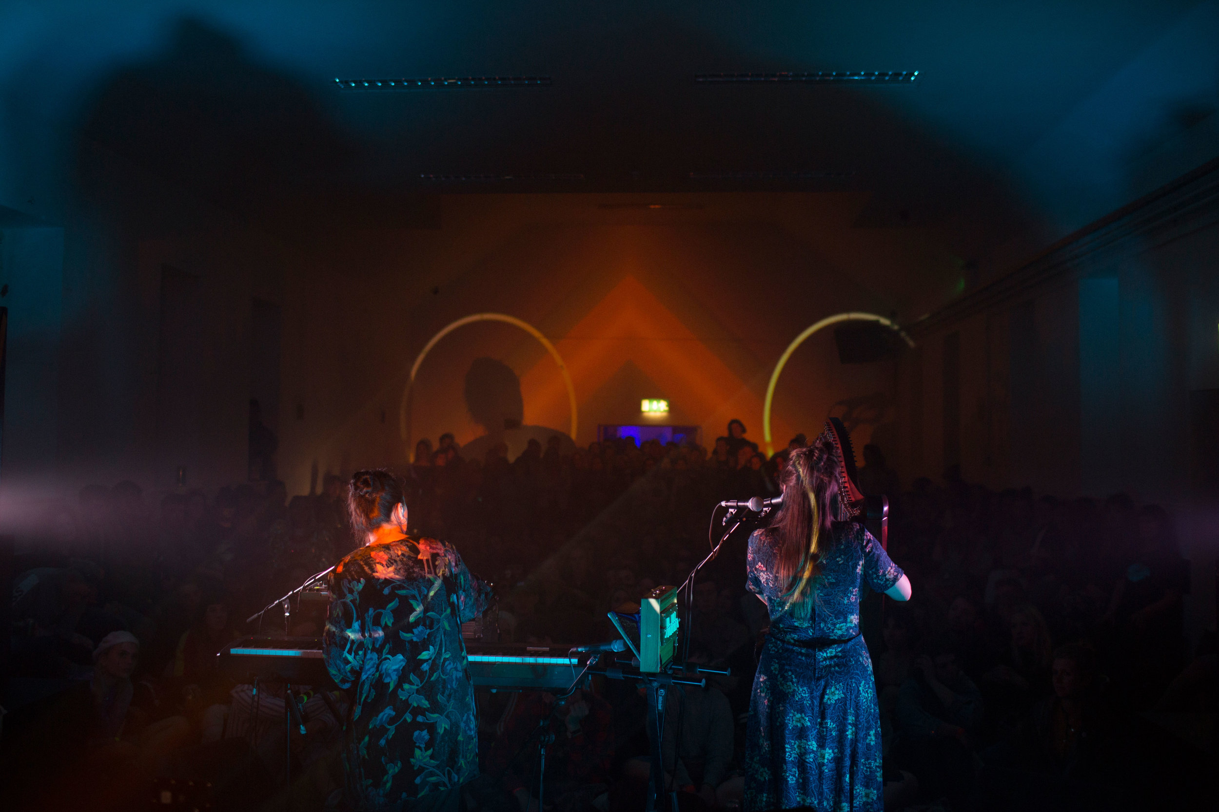 Saint Sister  in the Halla na Scoile, photographs by  Mark McGuinness