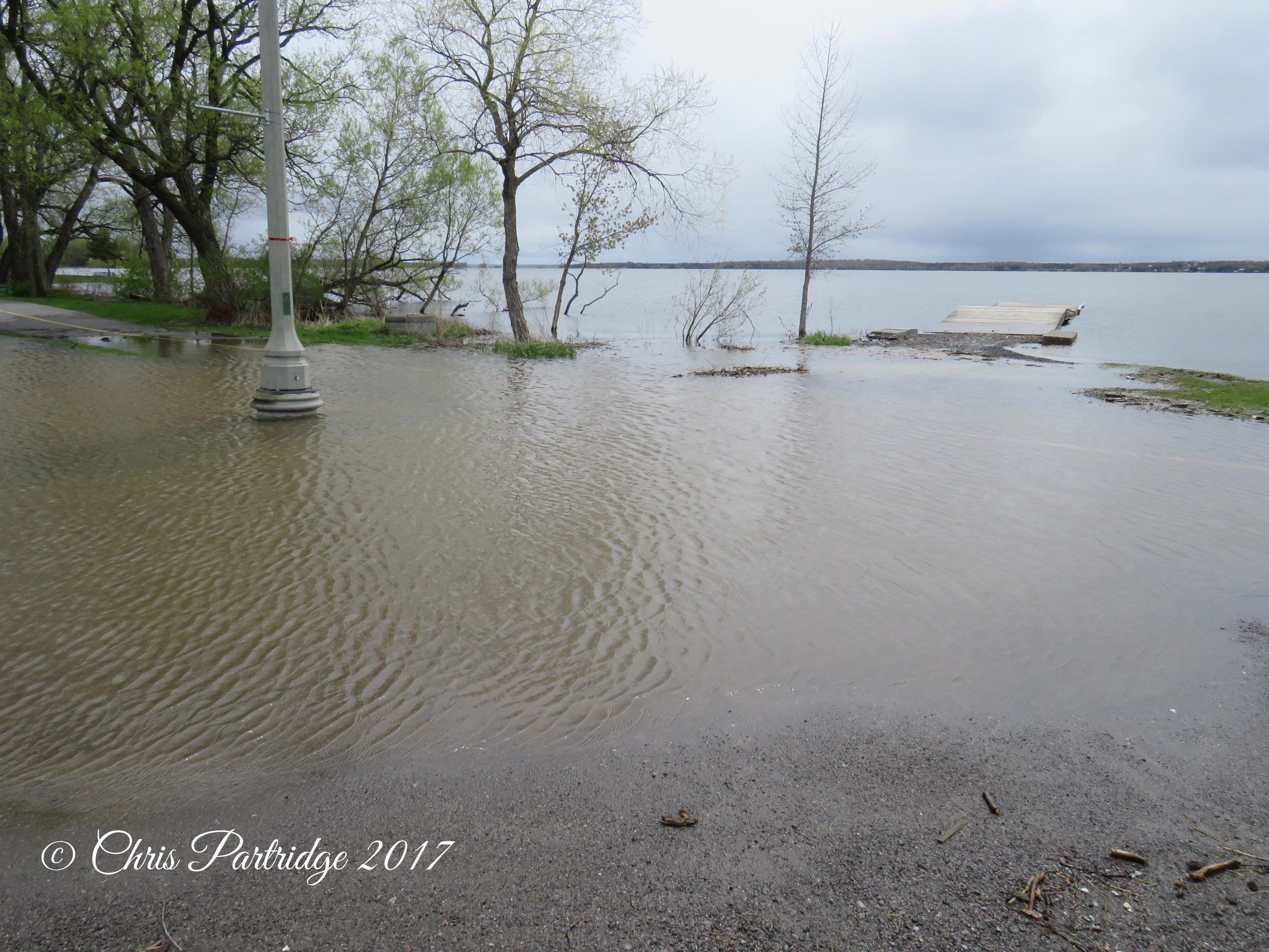 Belleville flooding. Taken May6th 2017.