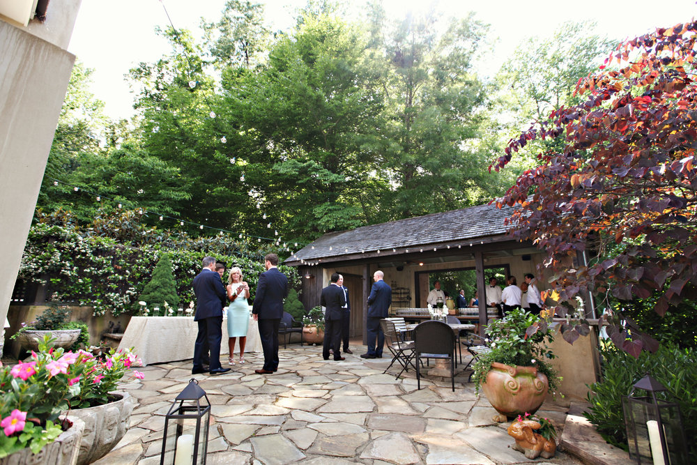 Our Specialty: Weddings At Home - There is no more special place to start your family tree than where your roots run deep!