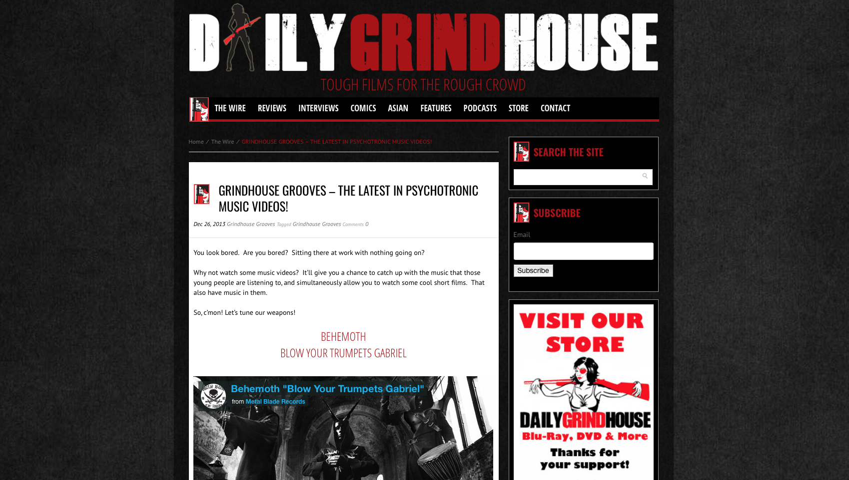 DAILYGRINDHOUSE.COM - I FEEL ALIVE