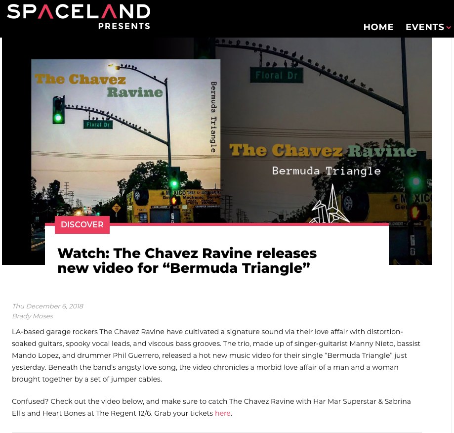 SPACELAND PRESENTS - BERMUDA TRIANGLE