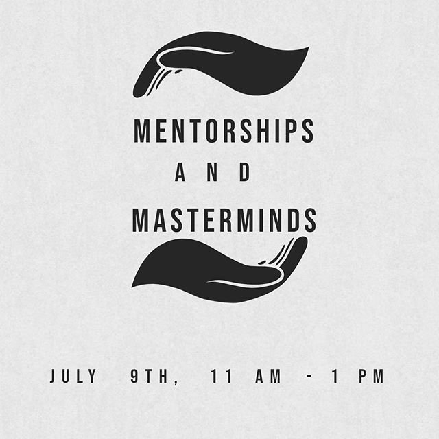 Our next meetup is on mentorships & masterminds. Are you a mentor or working with one? Are you in a mastermind group or hoping to start one? We'd love to have you share your experience and expertise on this subject at our next meetup (location is TBD- possibly in Emeryville or Berkeley)DM is for details! We'd love to have you. #masterminds #mentorship #entrepreneurlife #professionaldevelopment #communityovercompetition #tuesdaystogether #tuesdaystogetheroakland #risingtidesociety