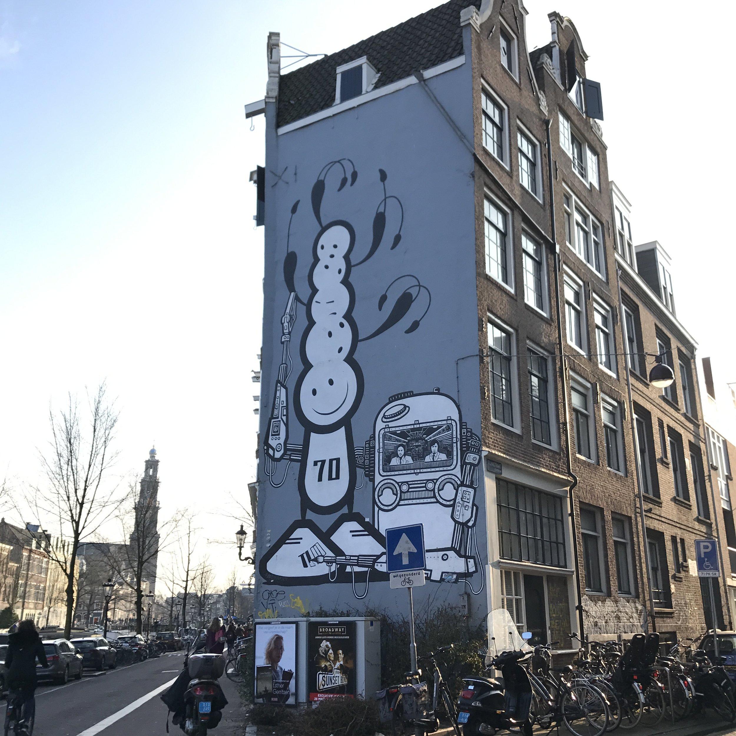 Inaugural drop: Amsterdam 3/24/18