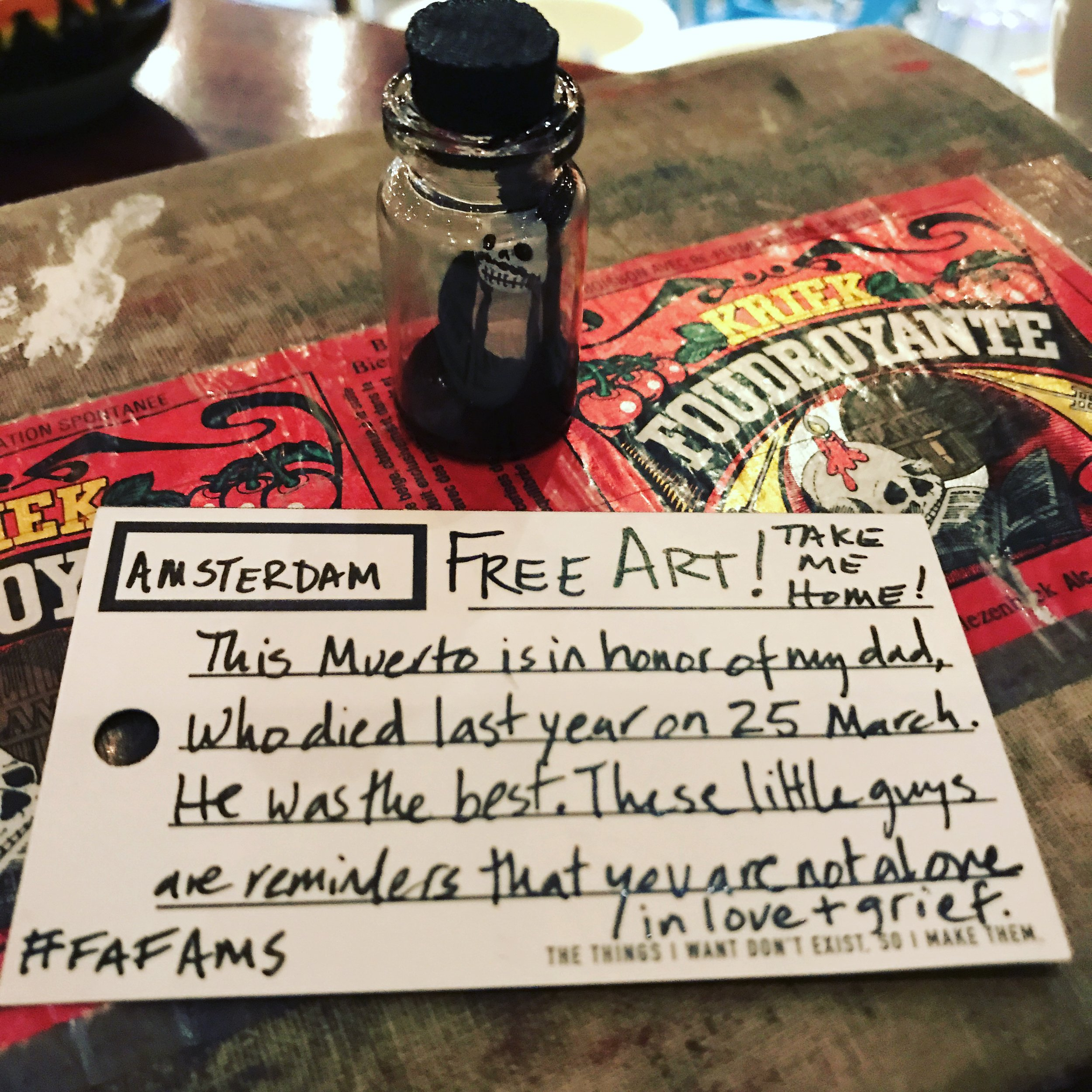 The message of Muertos