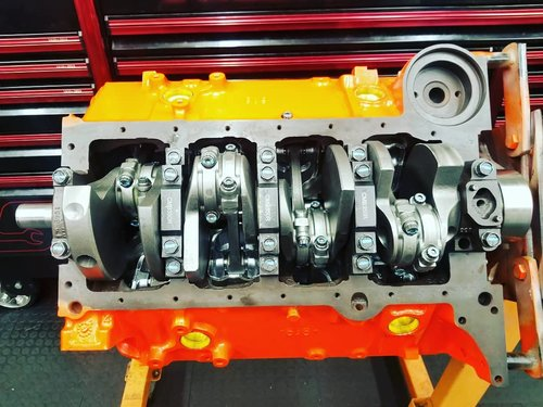 383 Short Block- Forged — Wolverine Engines