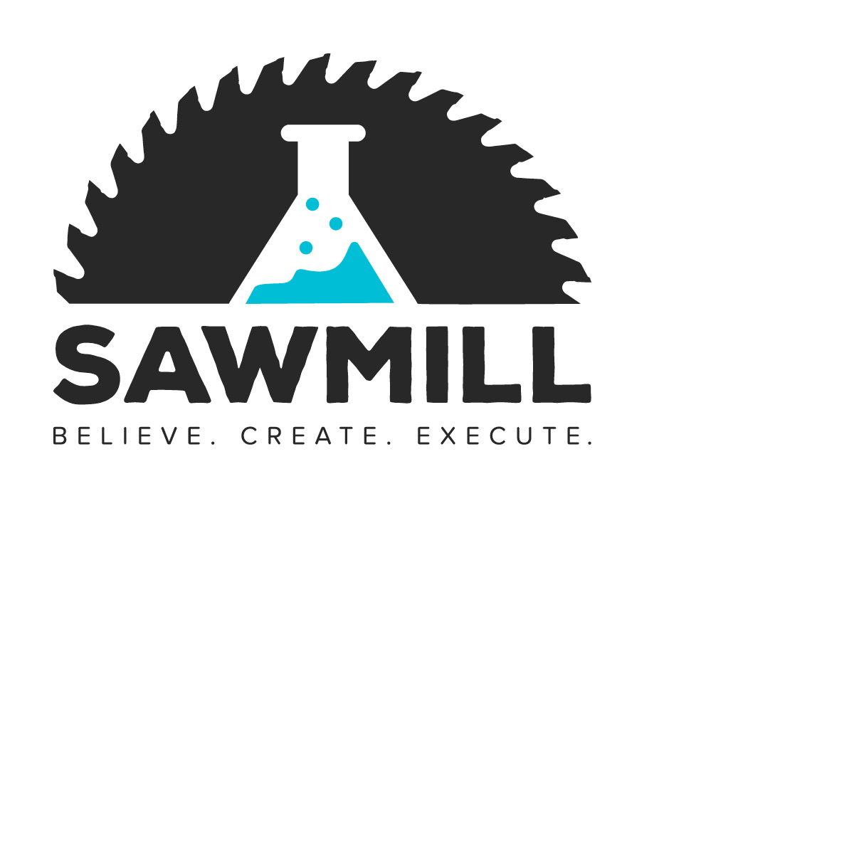 Sawmill logo ©  2015 Color Pop Art & Design