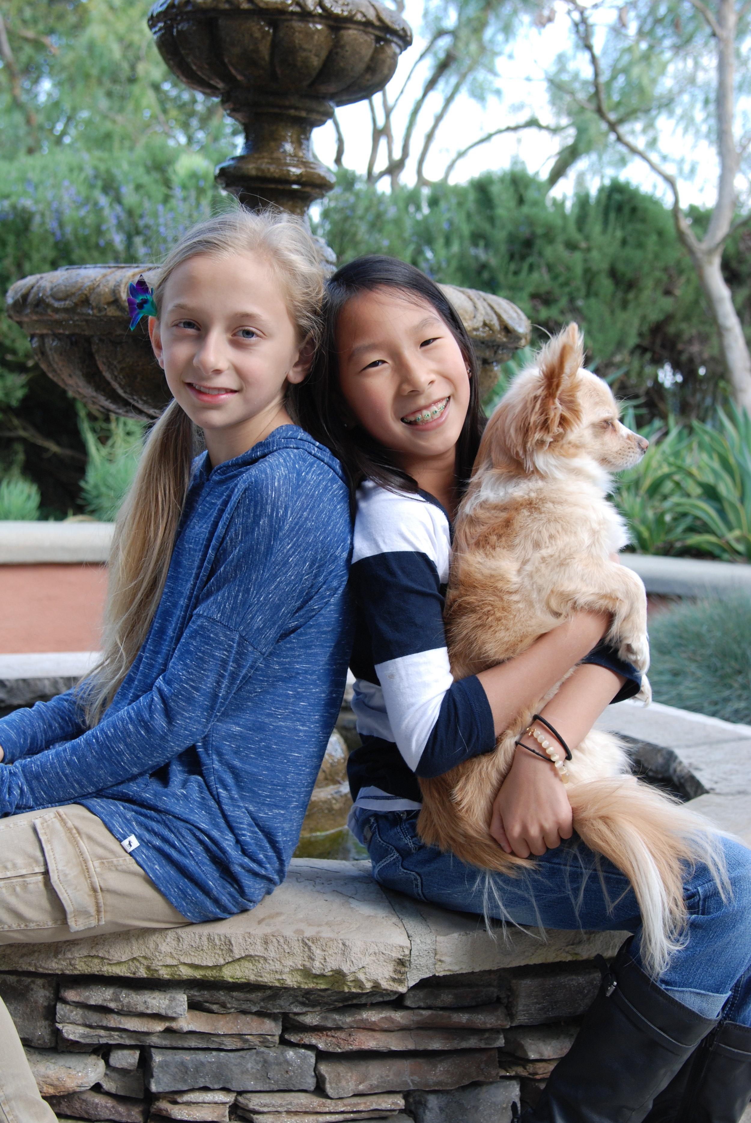 Erin & Sasha with dog.JPG
