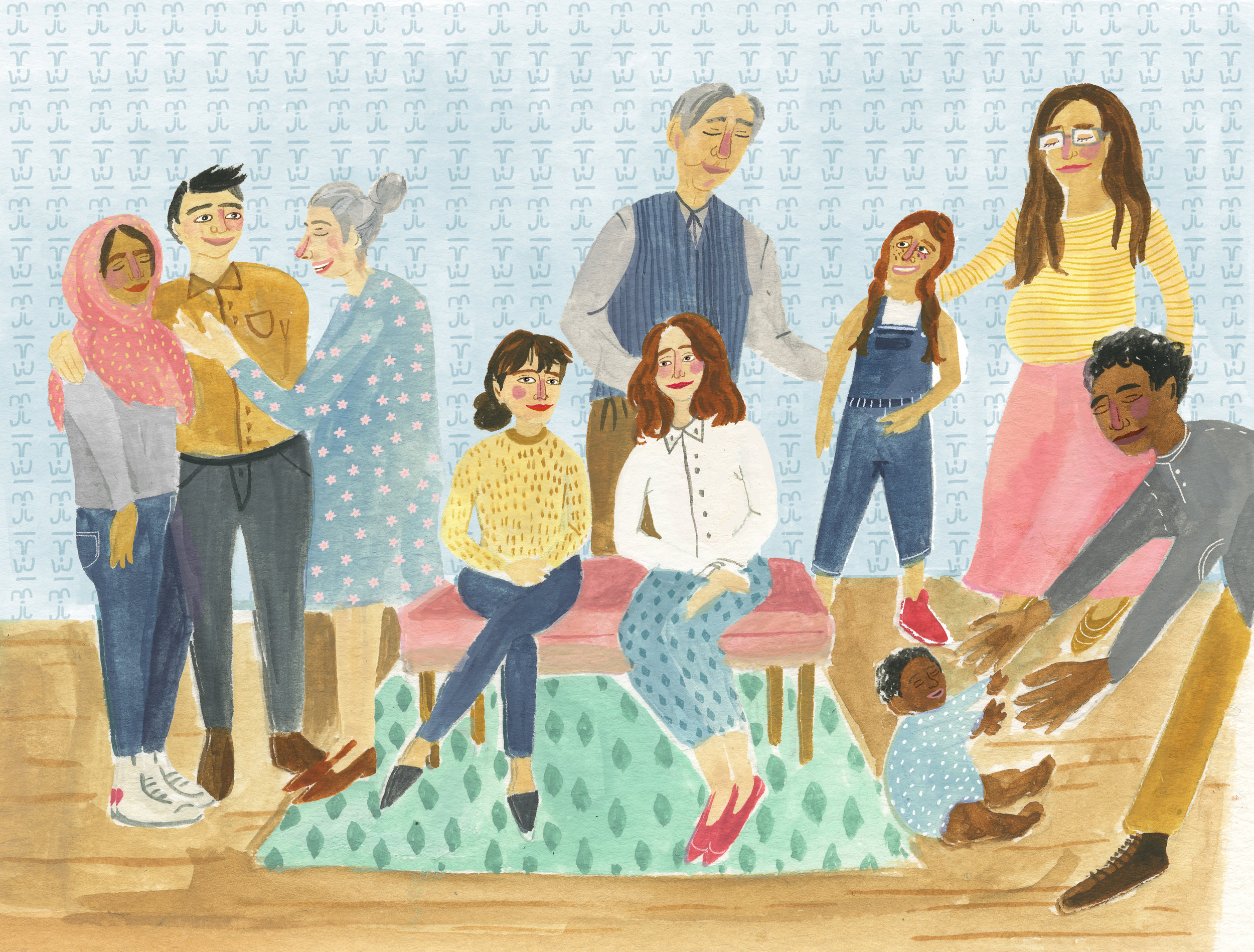 Illustration by our Illustrator,    Ariella Elovic