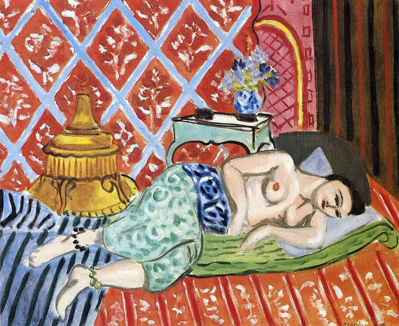 Femme couchée sur son dos (A Woman Lying on her Back) by Henri Matisse, 1927