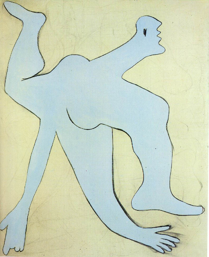 Pablo Picasso, 'The acrobat,' January 18, 1930