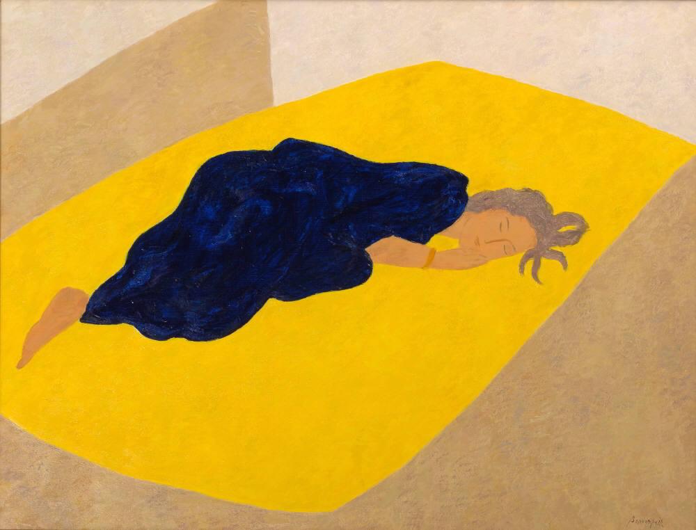 """""""Sommeil Jaune et Bleu"""" by Pierre Boncompain"""