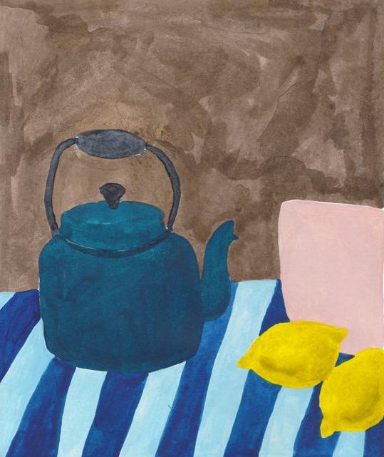 Painting courtesy of    Lea Maupetit