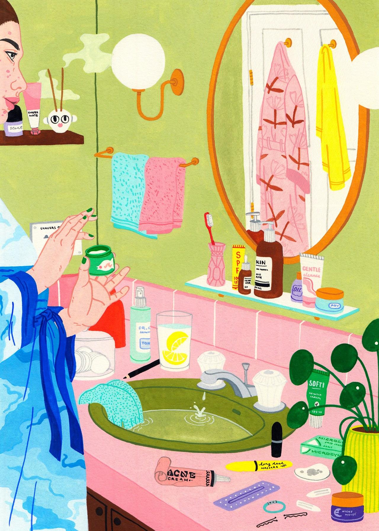 Illustration courtesy of  Laura Callaghan   for    Bon Appetit Magazine