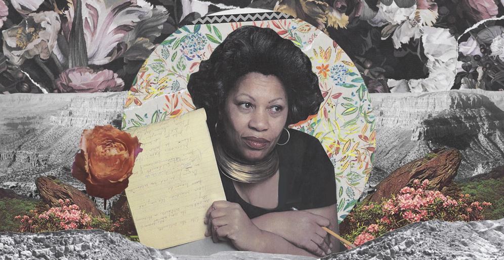 Toni Morrison collage courtesy of Afropunk