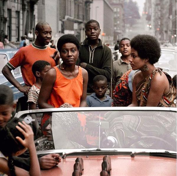 Untitled (Garvey Day, Deedee in Car). Photo by Kwame Brathwaite, 1965 via  BLK MKT Vintage