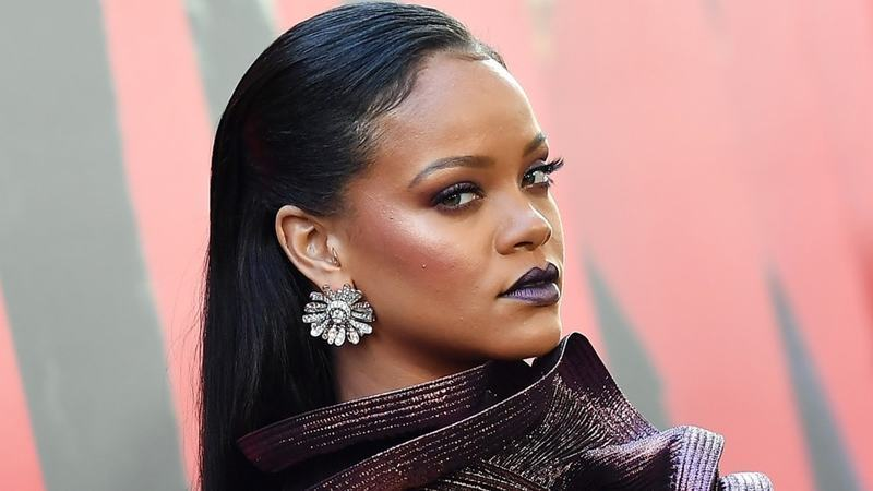 The side-eyed look we're giving to racist brands à la Rihanna