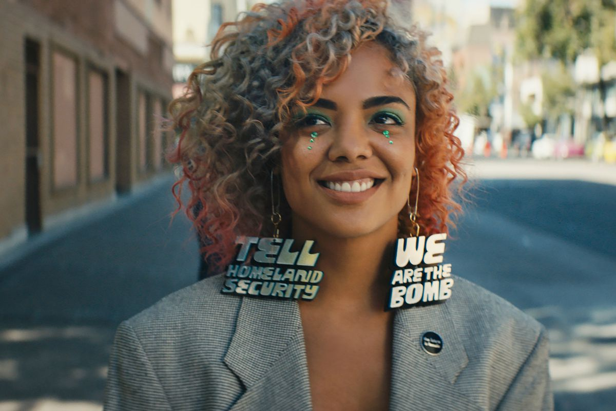 "Film still ℅ ""Sorry to Bother You"""