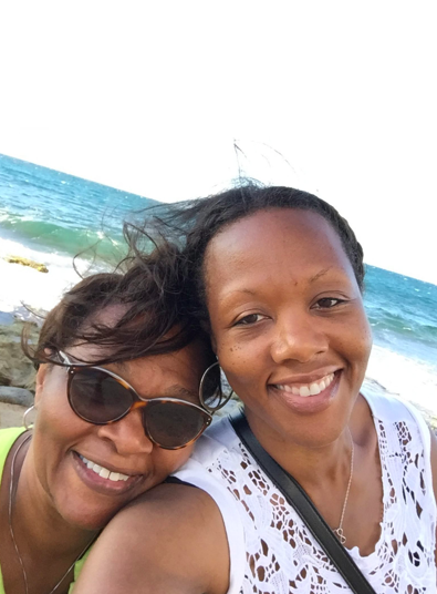 """Wanda and Shalon were so close, """"they were like the 'Gilmore Girls,'"""" one friend said. (Courtesy of Wanda Irving)"""