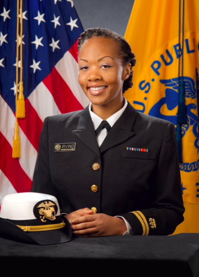 Shalon MauRene Irving was a lieutenant commander in the uniformed ranks of the U.S. Public Health Service. (Courtesy of Wanda Irving)