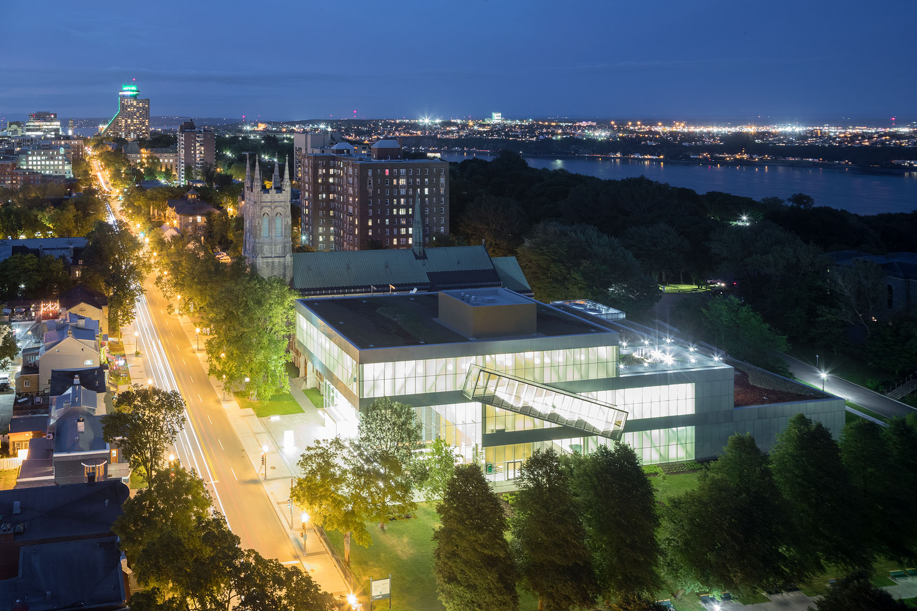 QUEBEC MUSEUM  - Quebec City, Completed June 2015 OMA, Ceren Bingol (Project Architect)