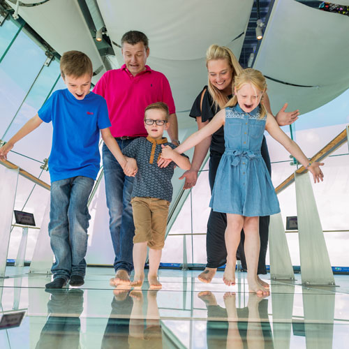 Photo Credit: Emirates Spinnaker Tower
