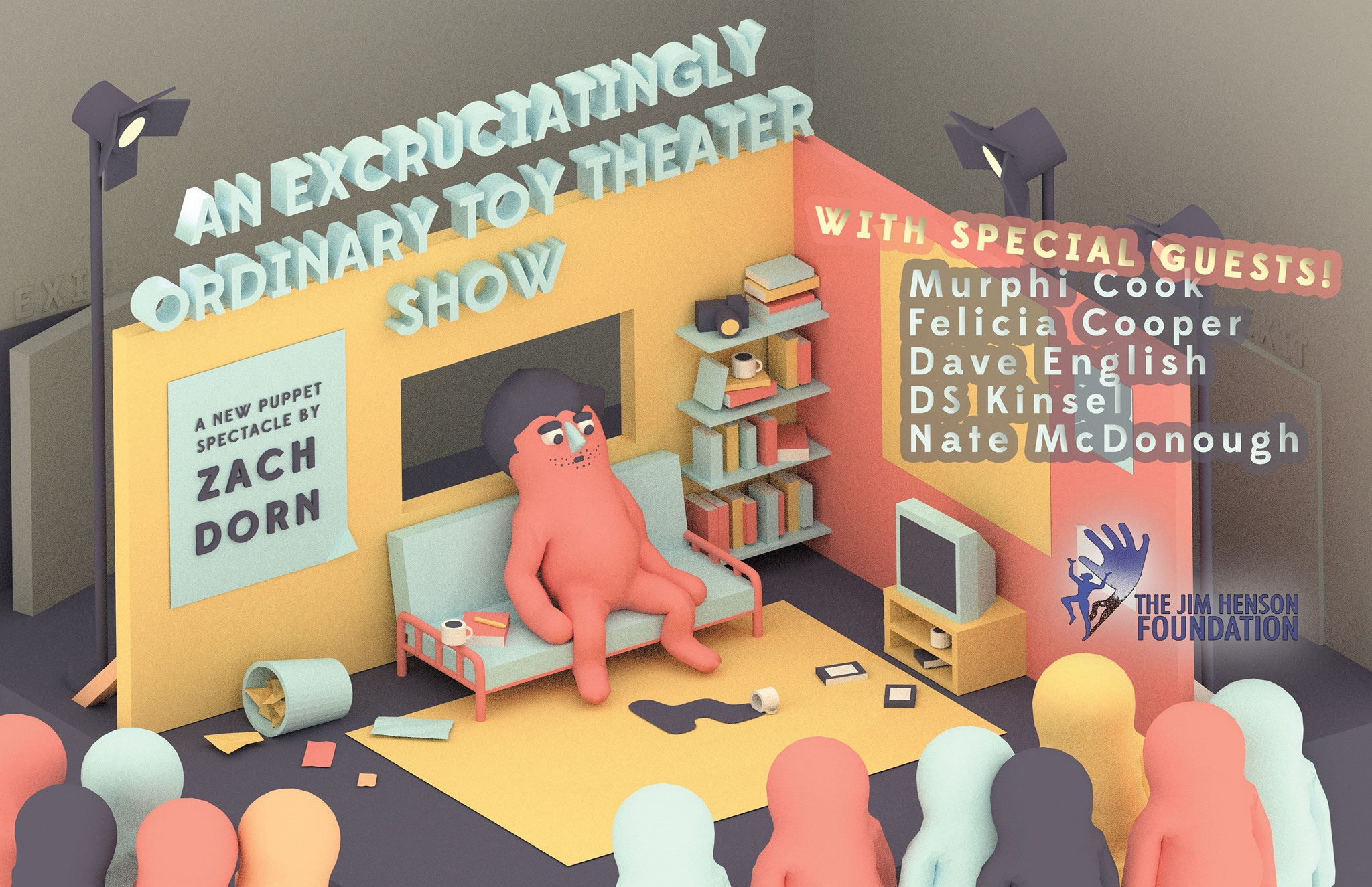 An Excruciatingly Ordinary Toy Theater Show - Dave performed as a special guest on Zach Dorn's ongoing toy theater series in January 2018 at The Glitterbox Theater.