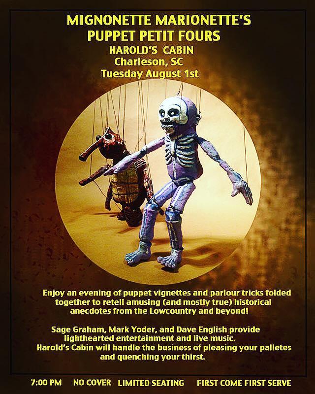Performer- Puppet Night at Harold's Cabin Charleston SC.jpg